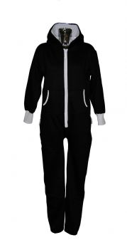 Unisex Adult Plain Onesie with Hood